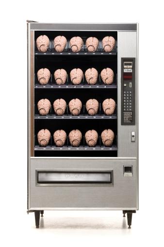 Intelligence「vending machine full of brains」:スマホ壁紙(18)