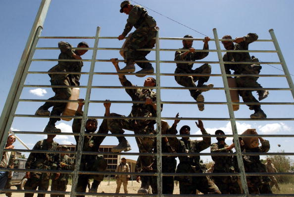 Beret「U.S. Green Berets Train Afghan Army」:写真・画像(9)[壁紙.com]