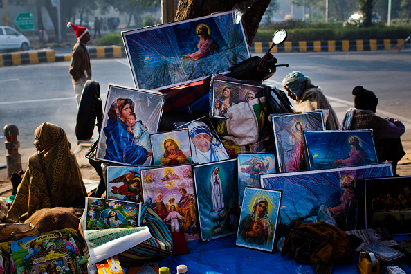 Delhi「Christians Celebrate Christmas In New Delhi」:写真・画像(4)[壁紙.com]