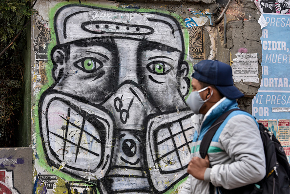 Graffiti「Colombia Extends Lockdown To Curb Coronavirus Spread Until End of May」:写真・画像(9)[壁紙.com]
