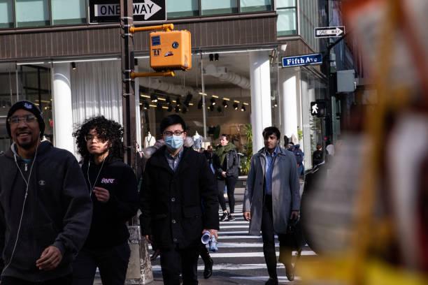 New York City On Edge As Coronavirus Spreads:ニュース(壁紙.com)