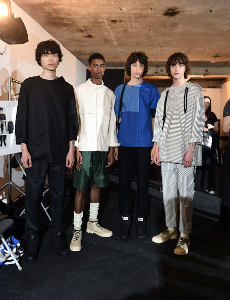 London Fashion Week「Phoebe English MAN - Backstage- LFWM June 2017」:写真・画像(13)[壁紙.com]