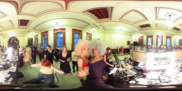 London Fashion Week「Pam Hogg - Backstage - LFW September 2016」:写真・画像(11)[壁紙.com]