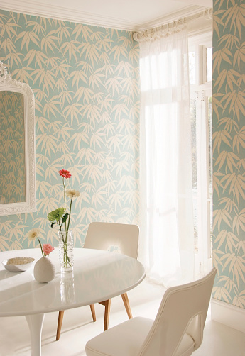 Turquoise Colored「Interior image of dining room」:スマホ壁紙(3)