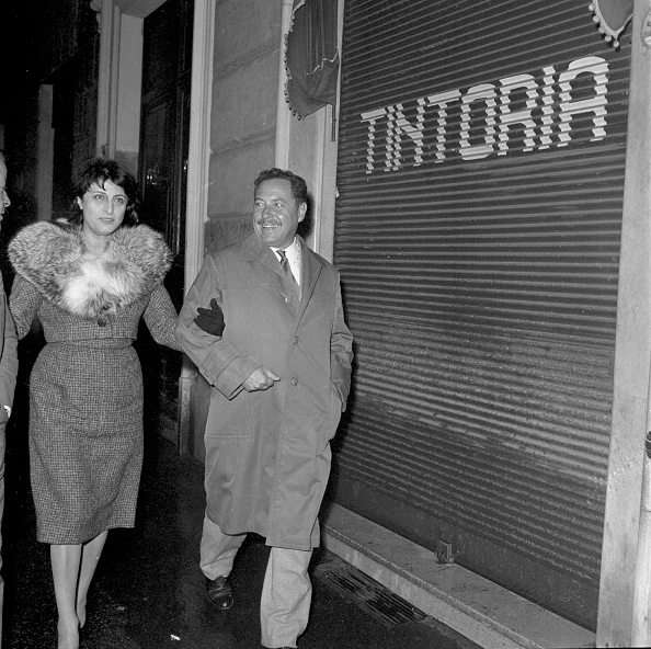 Photography「Italian actress Anna Magnani with American playwright Tennessee Williams in Rome in 1959」:写真・画像(5)[壁紙.com]