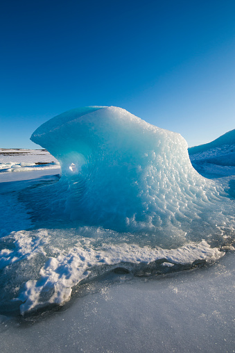 Wave「Iceland, wavy ice」:スマホ壁紙(19)