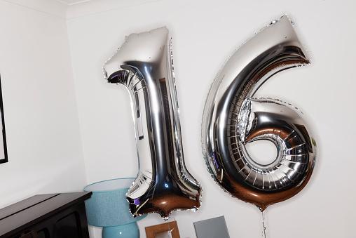 Teenager「Silver Helium Birthday Balloons」:スマホ壁紙(7)