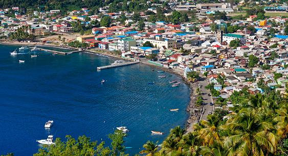 Soufriere「Sainte Lucia, Soufriere Costal Village」:スマホ壁紙(15)