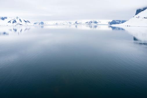 北極「スヴァールバルの北極」:スマホ壁紙(18)