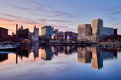 Liverpool - England「Salthouse Dock, Liverpool, United Kingdom」:スマホ壁紙(4)