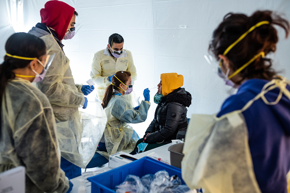 Accidents and Disasters「New York City Hospital Adds New Protocols And Triage To Address Coronavirus」:写真・画像(12)[壁紙.com]