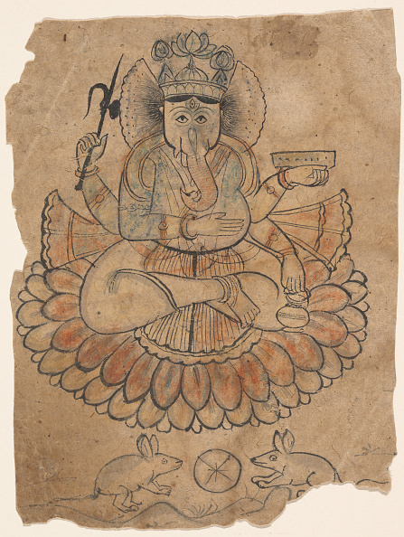 Water Lily「Seated Four-Armed Ganesha」:写真・画像(9)[壁紙.com]