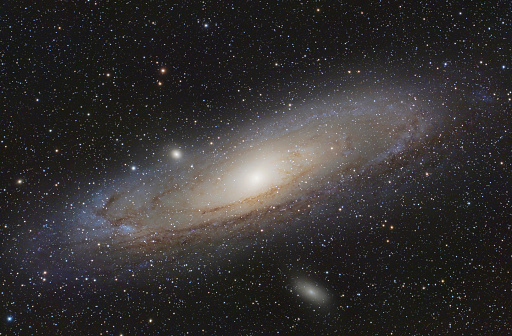 Andromeda Galaxy「Astrophotography, Spiral galaxy Messier 31 or Andromeda Galaxy」:スマホ壁紙(5)
