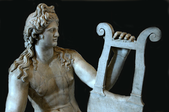 Musical instrument「Apollo The Lyrist Or Citharoedus. The Statue'S Style References A Myth Recounted In Ovid'S Metamorph Artist: Werner Forman.」:写真・画像(19)[壁紙.com]