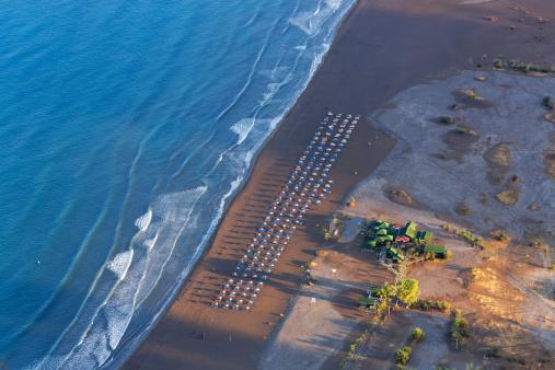Aegean Sea「Turkey, Dalyan, Iztuzu beach in the morning」:スマホ壁紙(6)