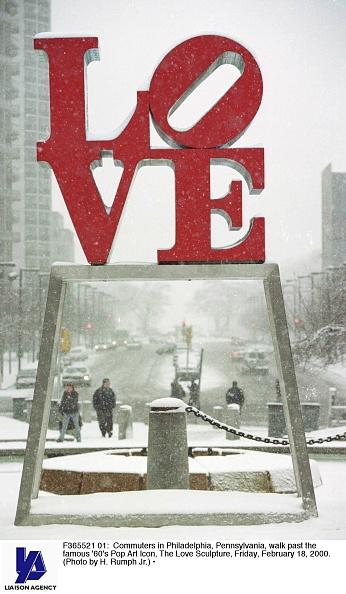 Philadelphia - Pennsylvania「Winter Storm In Philadelphia」:写真・画像(11)[壁紙.com]