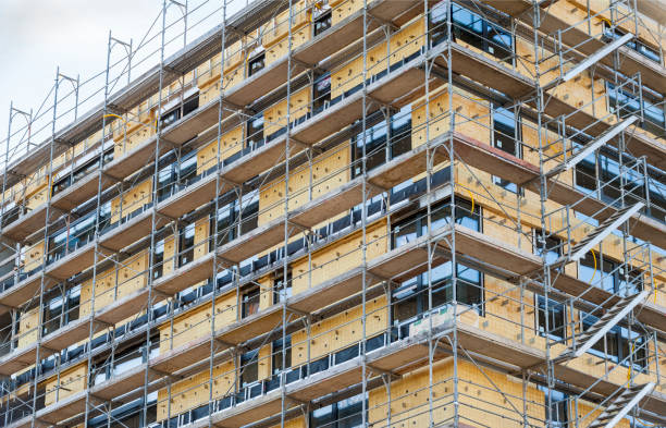 Thermal insulation on building facade:スマホ壁紙(壁紙.com)