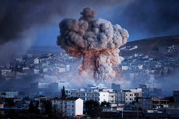 Middle East「Syrian Kurds Battle IS To Retain Control Of Kobani」:写真・画像(3)[壁紙.com]