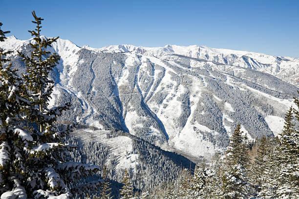 Ski area at the Aspen Highlands:スマホ壁紙(壁紙.com)
