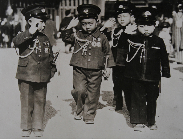 Military Uniform「Japanese Children In Uniforms Admiral」:写真・画像(2)[壁紙.com]