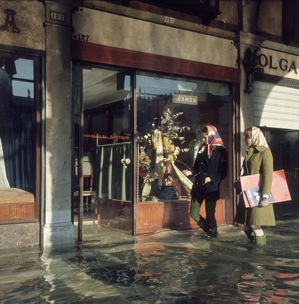 Venice - Italy「Venice Floods」:写真・画像(12)[壁紙.com]