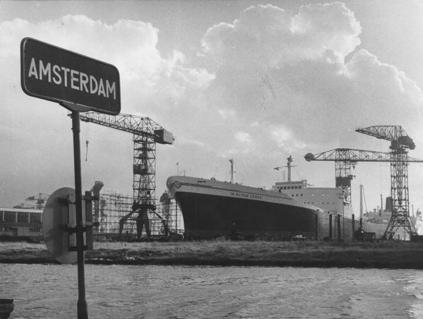 Netherlands「Amsterdam Docks」:写真・画像(12)[壁紙.com]