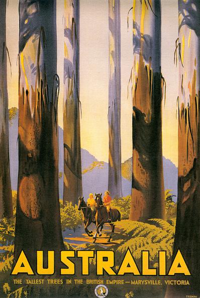 Tourism「Australia Travel Poster」:写真・画像(15)[壁紙.com]