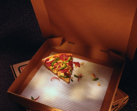 Pizza Box「Slice of pizza in a box」:スマホ壁紙(8)