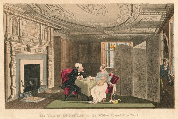 Hiding「'The Visist Of Dr Syntax To The Widow Hopefull At York', 1820」:写真・画像(19)[壁紙.com]