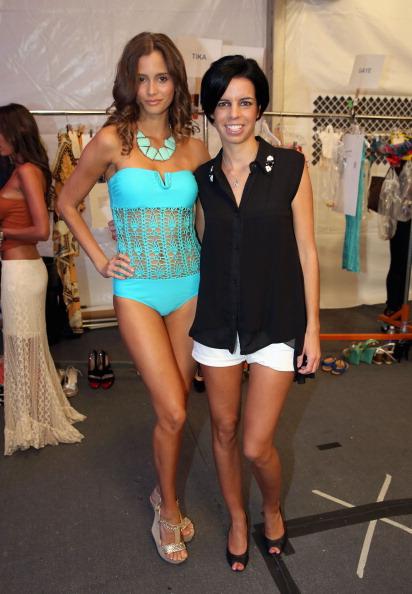 水着「Naila/ Sauvage/ Zingara Swimwear At Mercedes-Benz Fashion Week Swim 2014- Backstage」:写真・画像(10)[壁紙.com]