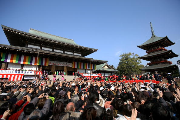 Setsubun「Japan Celebrates The Coming Of Spring With The Bean-Scattering Ceremony」:写真・画像(6)[壁紙.com]