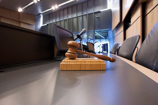 Election「Judges Gavel in Courtroom」:スマホ壁紙(13)