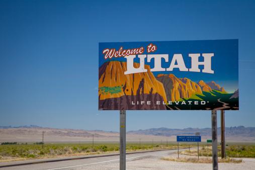 Utah「Welcome to Utah road sign」:スマホ壁紙(13)