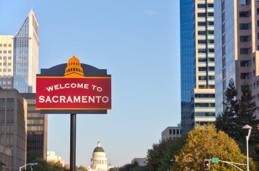 Sacramento「Welcome to Sacramento sign」:スマホ壁紙(11)