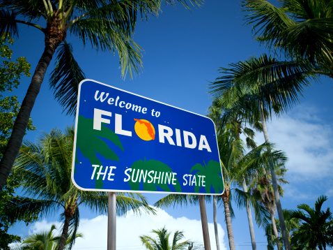 Gulf Coast States「Welcome to Florida USA」:スマホ壁紙(4)