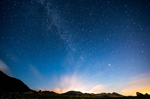 Hill「lanzarote night sky milky way」:スマホ壁紙(3)
