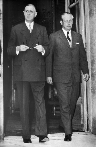 French Prime Minister「De Gaulle And Macmillan」:写真・画像(19)[壁紙.com]