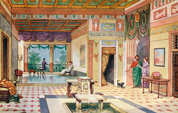 Ancient Civilization「The Roman Empire - the Roman home.」:写真・画像(6)[壁紙.com]