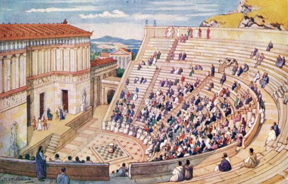 Amphitheater「The Roman Empire - amphitheatre」:写真・画像(2)[壁紙.com]