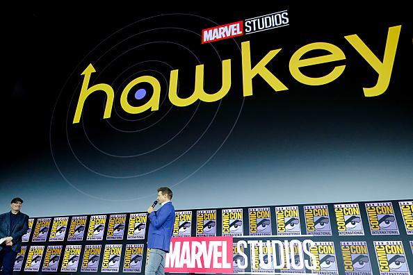Jeremy Renner「Marvel Studios Hall H Panel」:写真・画像(8)[壁紙.com]