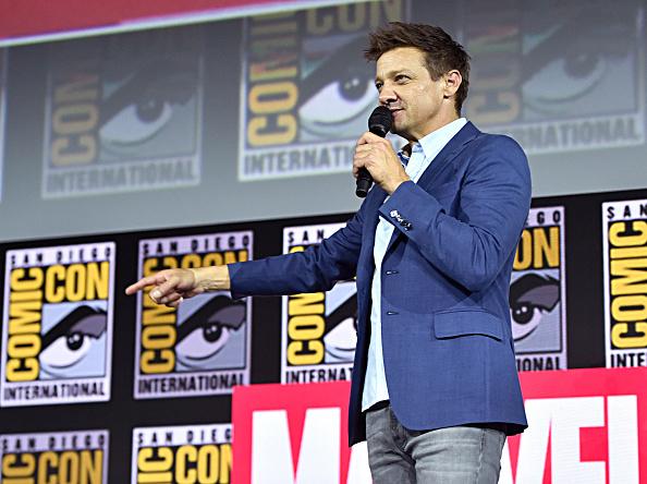 Jeremy Renner「Marvel Studios Hall H Panel」:写真・画像(9)[壁紙.com]