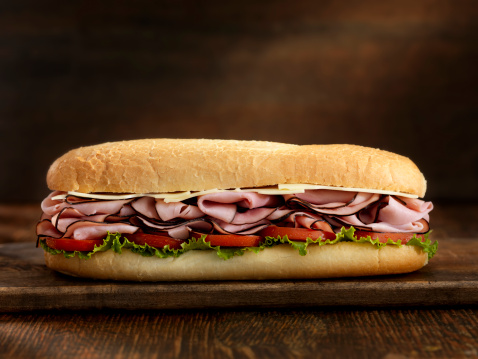 Bun - Bread「Foot Long Ham and Swiss Cheese Sub」:スマホ壁紙(4)