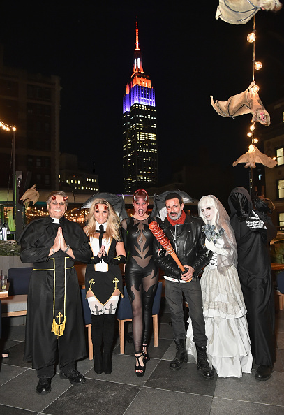 Jamie McCarthy「Heidi Klum's 18th Annual Halloween Party presented by Party City and SVEDKA Vodka at Magic Hour Rooftop Bar & Lounge at Moxy Times Square - Inside」:写真・画像(3)[壁紙.com]