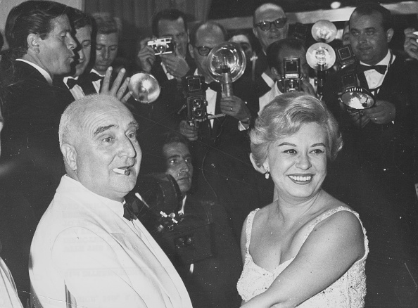 Venice International Film Festival「Giulietta Masina And Angelo Rizzoli」:写真・画像(8)[壁紙.com]
