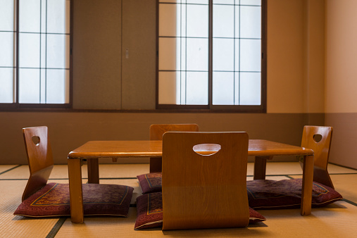 Seat「Seats and table on Japanese tatami」:スマホ壁紙(19)