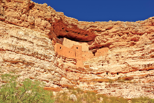 Indigenous Culture「USA, Arizona, Montezuma's Castle」:スマホ壁紙(11)