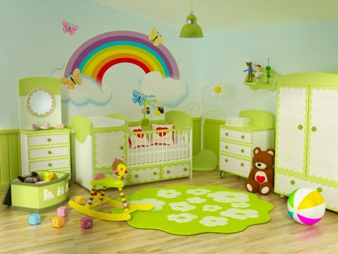 子供時代「赤ちゃんのルーム」:スマホ壁紙(11)