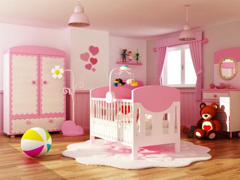 子供時代「赤ちゃんのルーム」:スマホ壁紙(12)