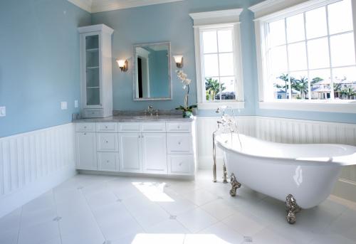 Relaxation「Luxury Master Bathroom with Free Standing Bath Tub」:スマホ壁紙(8)