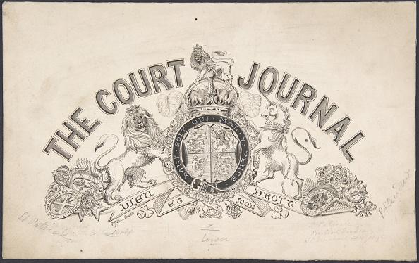 Patriotism「Title Page Design For The Court Journal」:写真・画像(19)[壁紙.com]